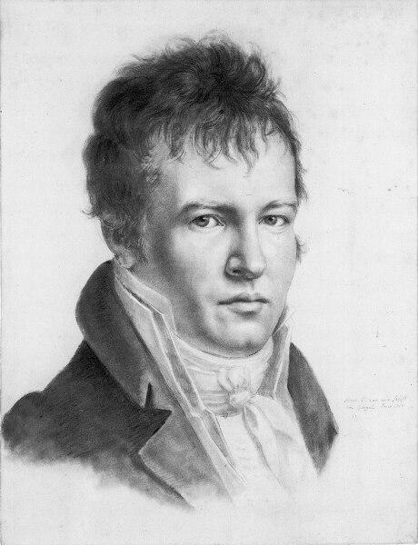 Александр фон Гумбольдт, «Автопортрет», 1814 г.