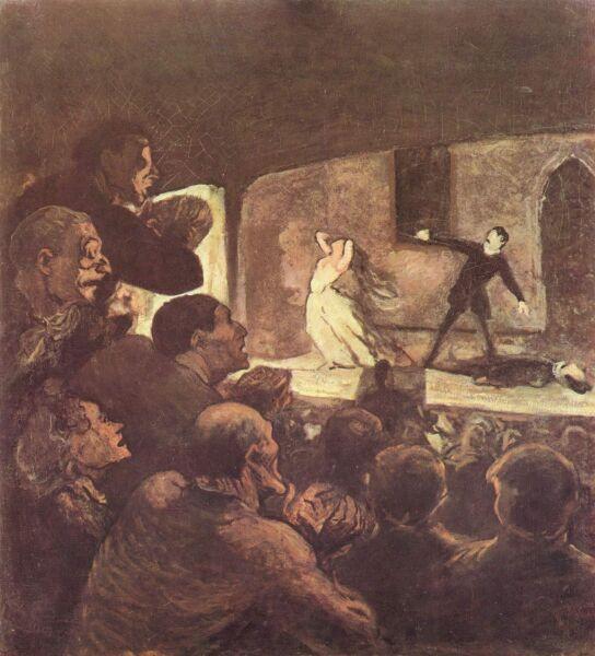 Оноре Домье, «Мелодрама»
