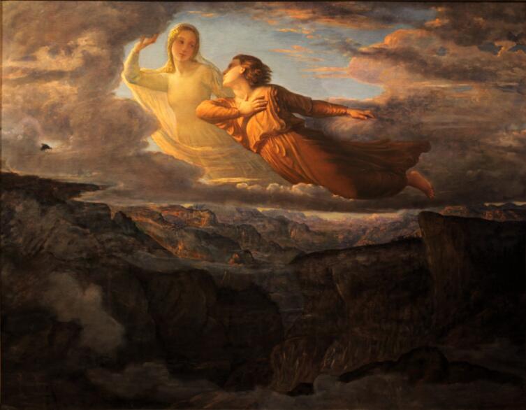 Луи Жанмо, «Поэма души 17. Идеал», 1854 г.