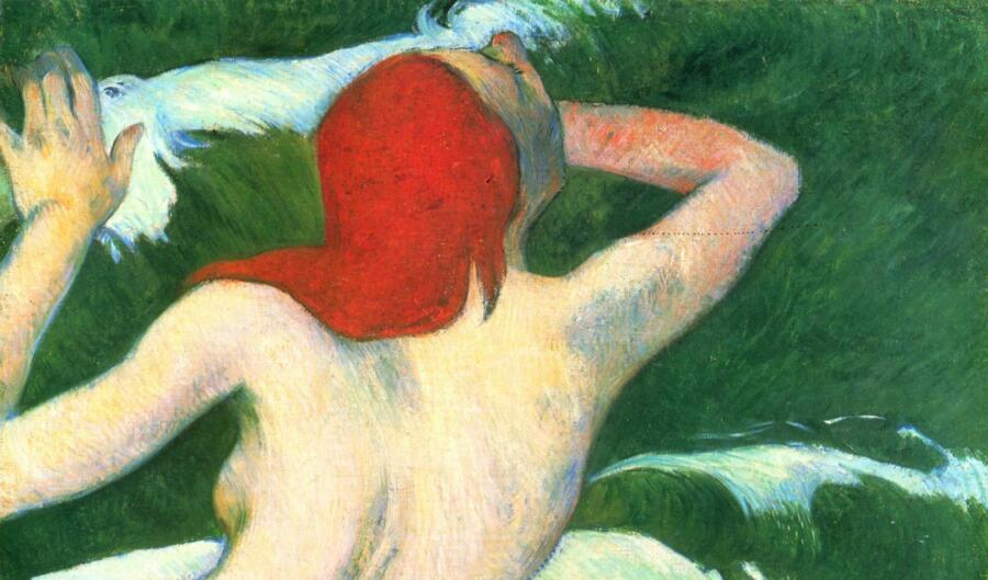 Поль Гоген, «Ундина» (фрагмент), 1889 г.