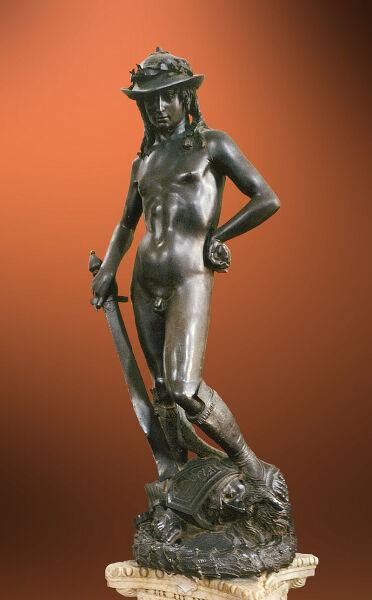 Донателло, скульптура «Давид», 1440 г.