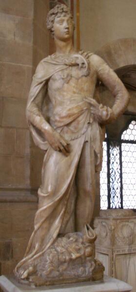 Донателло, скульптура «Давид», 1408—1409 гг.