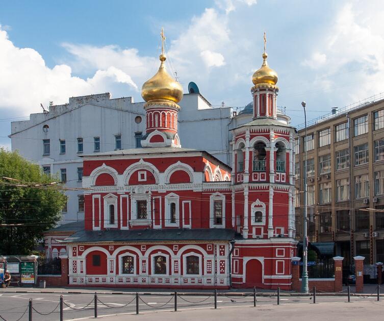 Всехсвятская церковь на Кулишках