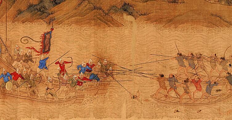 Атака японских пиратов