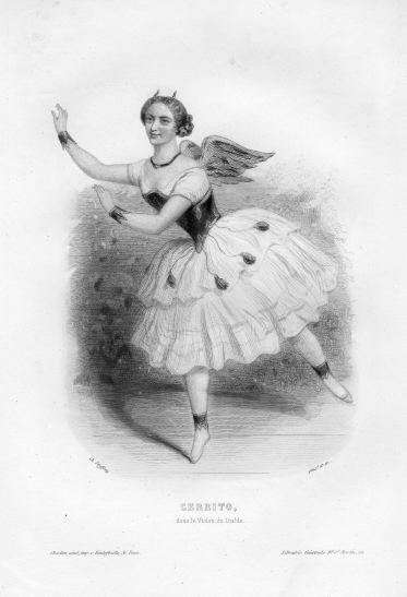 Фанни Черрито, 1849 г.