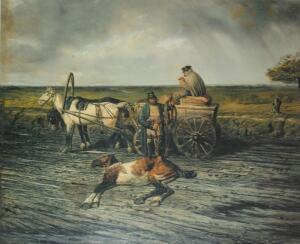 Как развивалась конная почта?