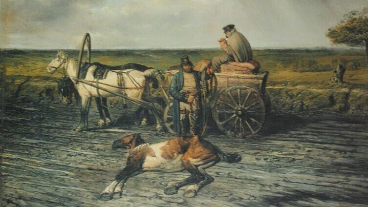 П. П. Соколов, «Почтарь», 1860-е гг.
