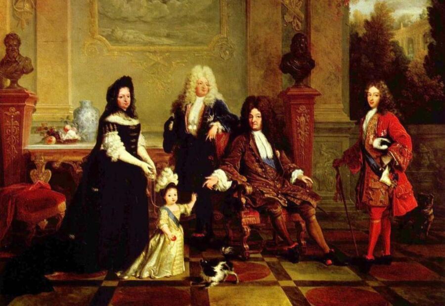Никола де Ларжильер, «Портрет Людовика XIV и его наследников»