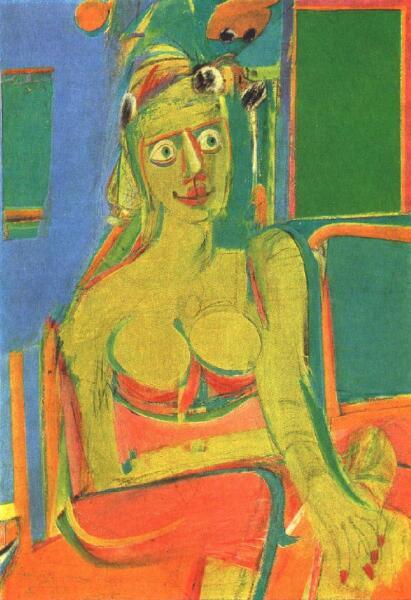 Виллем де Кунинг, «Женщина», 1944 г.