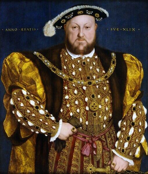 Ганс Гольбейн Младший, «Генрих VIII Тюдор»