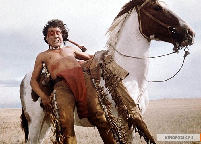 Кадр из к/ф «Маленький большой человек», 1970 г.