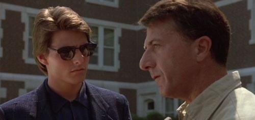 Кадр из к/ф «Человек дождя», 1988 г.