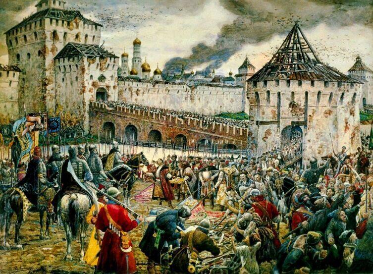 Эрнст Лисснер, «Изгнание поляков из Кремля»