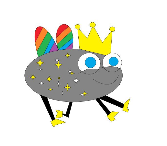 Муха Соль превратилась в летающую цветную карликовую принцессу