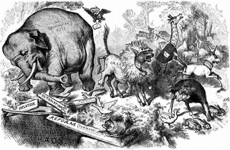 Карикатура Томаса Наста