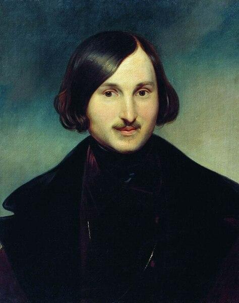 Ф. А. Моллер, «Портрет Н. В. Гоголя», около 1850 г.