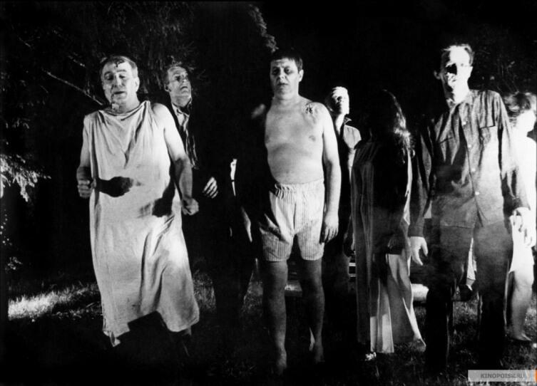 Кадр из к/ф «Ночь живых мертвецов», 1968 г.