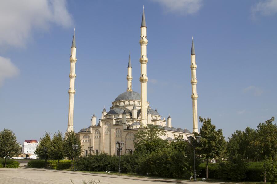 Главная мечеть Чеченской республики