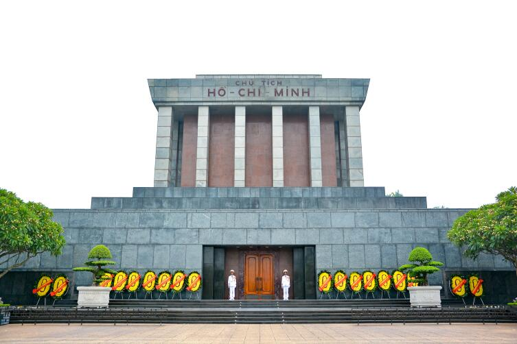 Мавзолей Хошимина в Ханое, Вьетнам