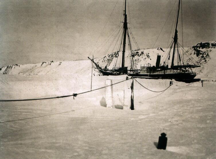 Зимовка «Св. Фоки» у Новой Земли