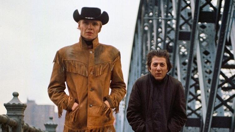 Кадр из к/ф «Полуночный ковбой», 1969 г.