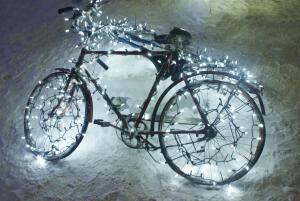 Какую подсветку можно сделать для велосипеда?