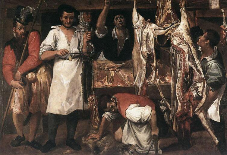 Аннибале Карраччи, «Лавка мясника»