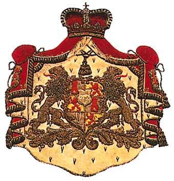Герб дворянского семейства Турн-и-Таксис