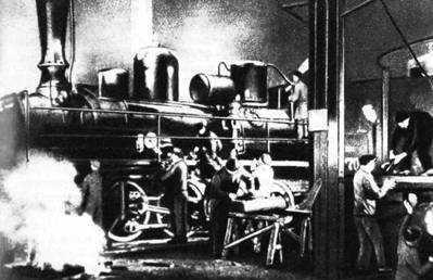 Первый коммунистический субботник в депо Москва-Сортировочная Московско-Казанской железной дороги 12 апреля 1919 года