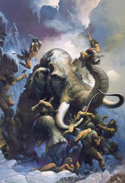Кен Келли, «Ледяной мамонт»