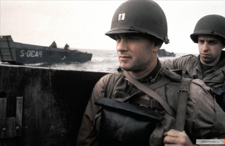 Кадр из к/ф «Спасти рядового Райана», 1998 г.