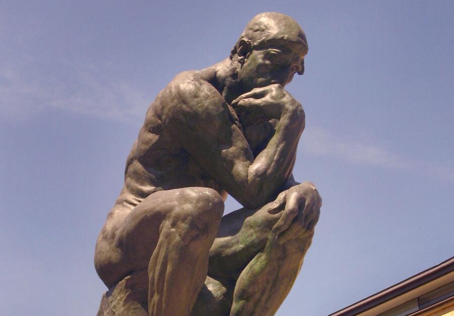 Огюст Роден, скульптура «Мыслитель»