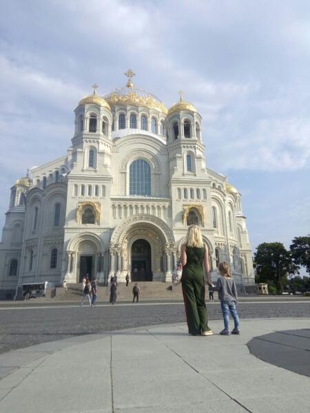 Морской Никольский собор в Кронштадте
