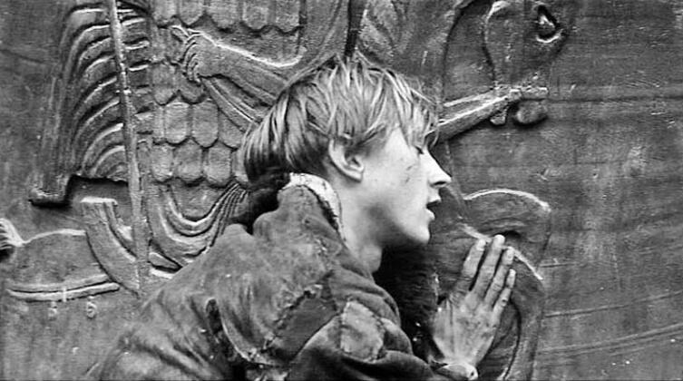 Кадр из к/ф «Андрей Рублев», 1966 г.