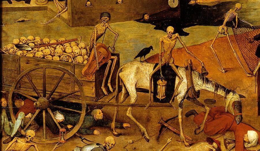 Питер Брейгель Старший, «Триумф смерти» (фрагмент), 1563 г.
