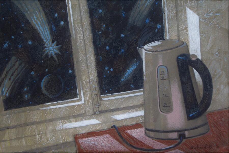 В. А. Новиков, «Чайник и Космос», 2016 г.