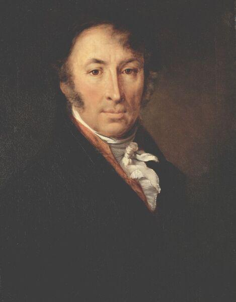 В. А. Тропинин, «Портрет Николая Михайловича Карамзина», 1818 г.