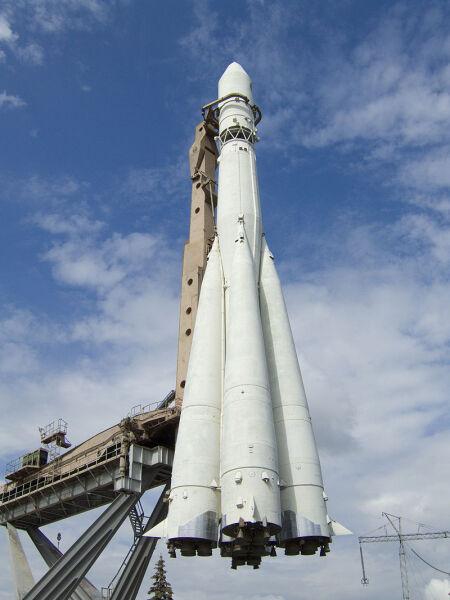 Ракета «Восток», входящая в семейство Р-7