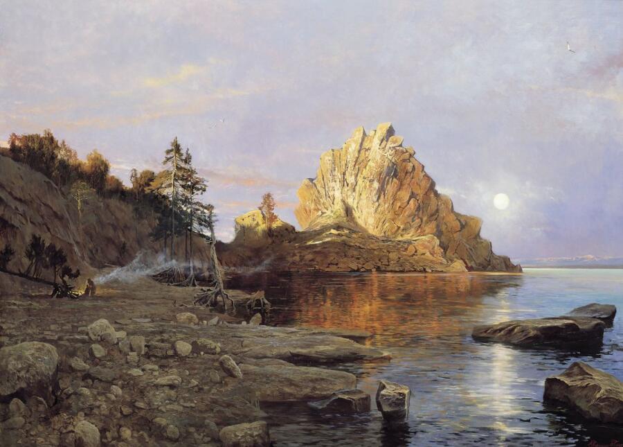 А. П. Афонин, «Озеро Байкал»