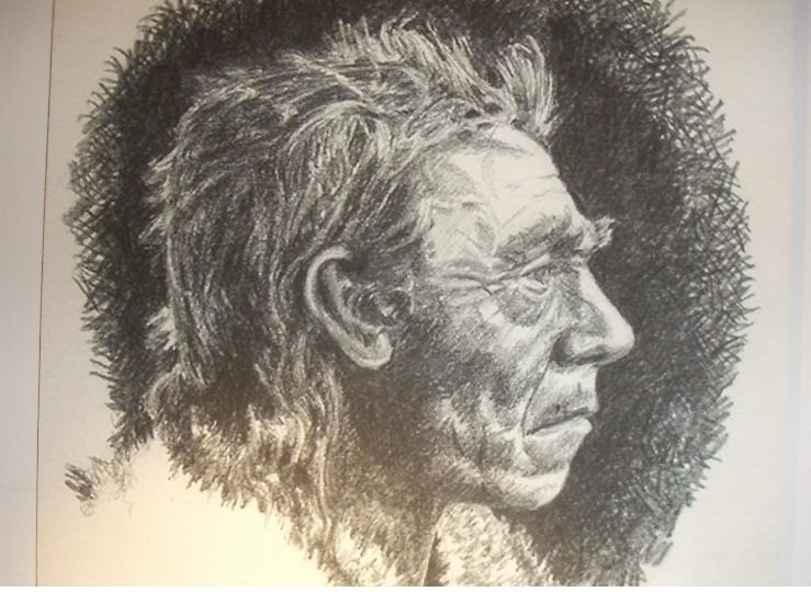 Неандерталец. Реконструкция Джона Хоукса