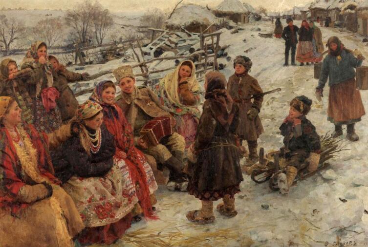 Ф. В. Сычков, «Свободное время», 1910 г.