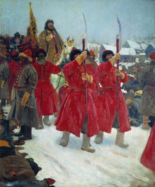С. В. Иванов, «Царь», 1902 г.