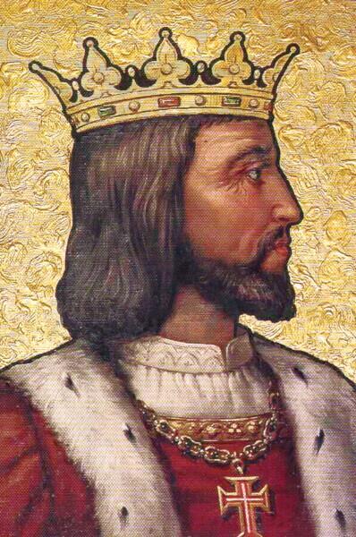 Портрет короля Мануэла I из галереи во дворце в Синтре