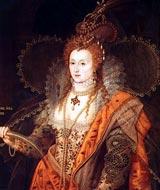 Английская королева Елизавета.