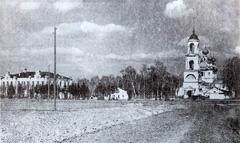Хреновская церковно-учительская семинария и Покровская церковь в начале XX века