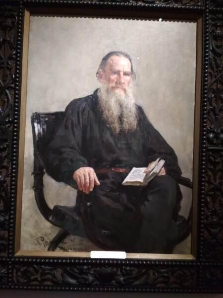 Лев Толстой, 1887г.
