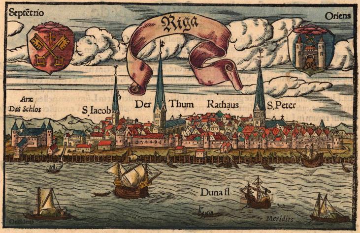 Рига в XVI столетии