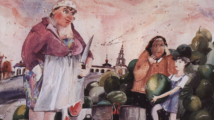 В. В. Архипов, «Арбузница», 1999 г.