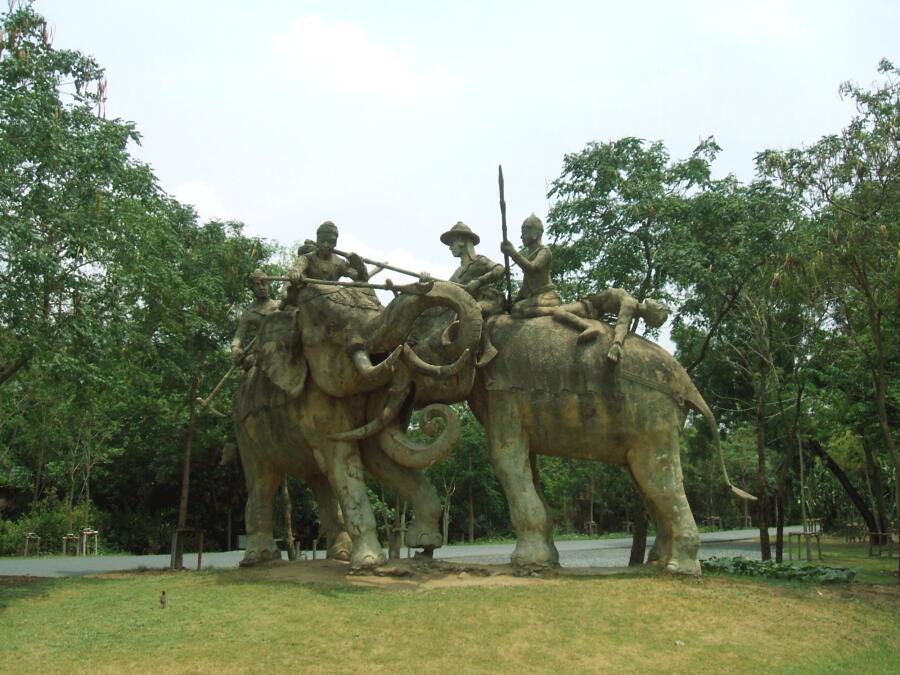 Военный мемориал в Бангкоке, Таиланд