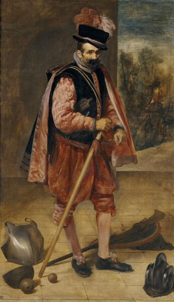 "Диего Веласкес, «Шут по прозвищу ""Дон Хуан Австрийский""», 1633 г."